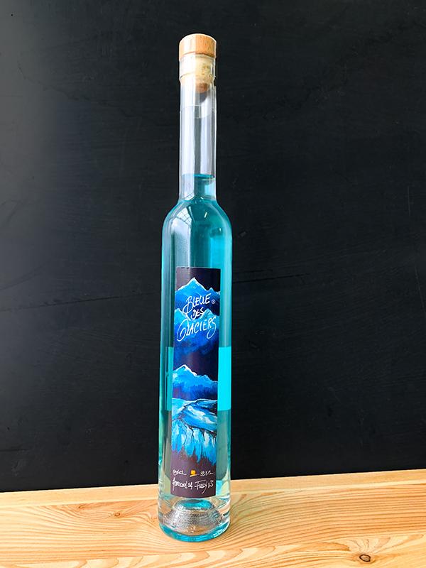 bleue des glaciers